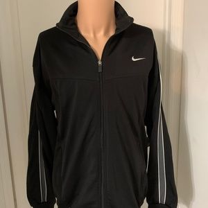 Nike Track Jacket Men's embroidered logo zip Large